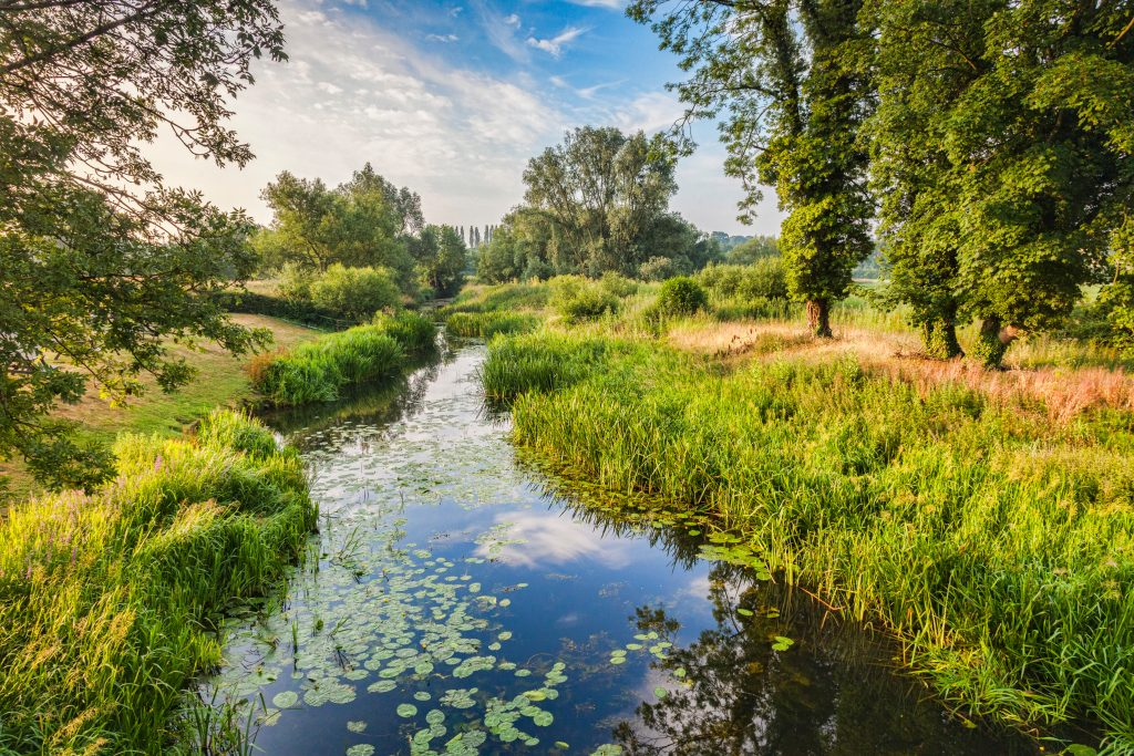 A beautiful photograph of the River Stour in Suffolk. Eastern Fostering Services provide fostering in Suffolk and are looking for new carers.